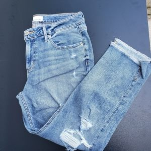 Maurices distresssed jeans size 30